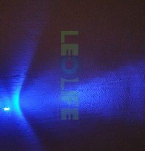 LED 3mm Sininen 4 000 mcd / 30°
