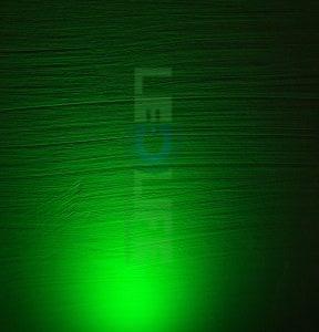 LED 3mm Vihreä 1000 mcd / 120° Diffusoitu kuori