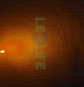 LED 5mm diffusoitu Keltainen 600 mcd