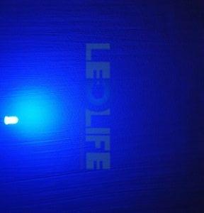 LED 5mm diffusoitu Sininen