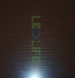 LED 5mm diffusoitu Valkoinen 1200 mcd / 120° (Valkoinen kuori)