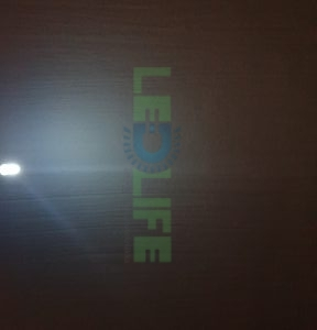 LED 5mm diffusoitu Valkoinen 1200 mcd / 120°