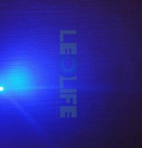 LED 5mm diffusoitu Sininen 400 mcd