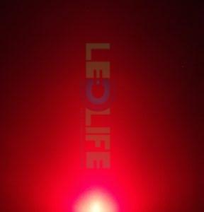 LED 5mm diffusoitu Punainen 500 mcd