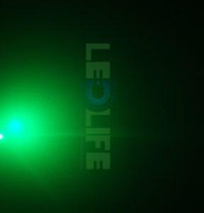 LED 5mm diffusoitu vihreä 2 000 mcd/120°